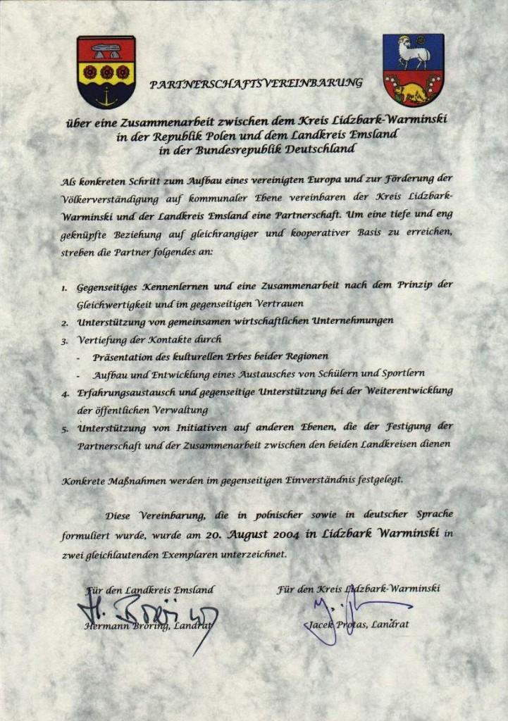 Umowa niemiecka