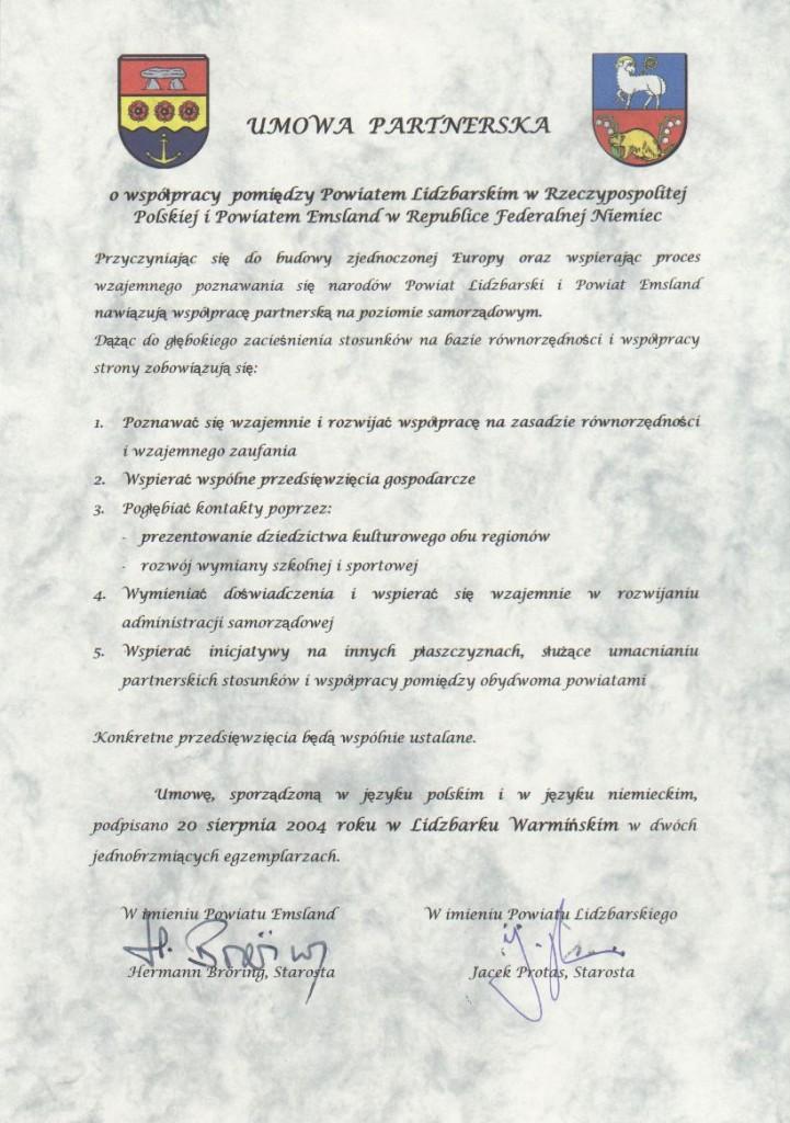 Umowa polska